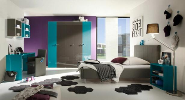 Jugendzimmergestaltung for Jugendzimmer turkis