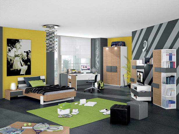 jungen jugendzimmer. Black Bedroom Furniture Sets. Home Design Ideas