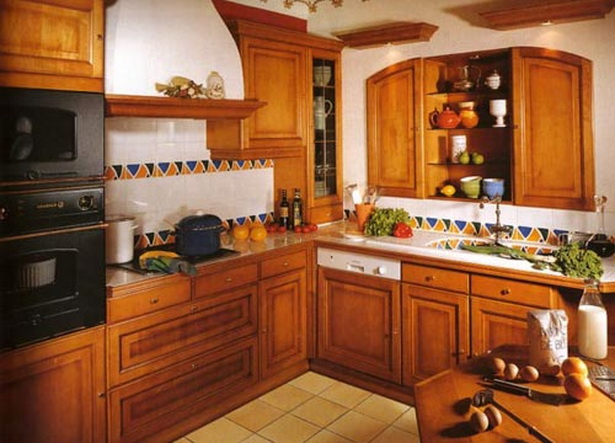 Kuche eiche rustikal for Küchen rustikal