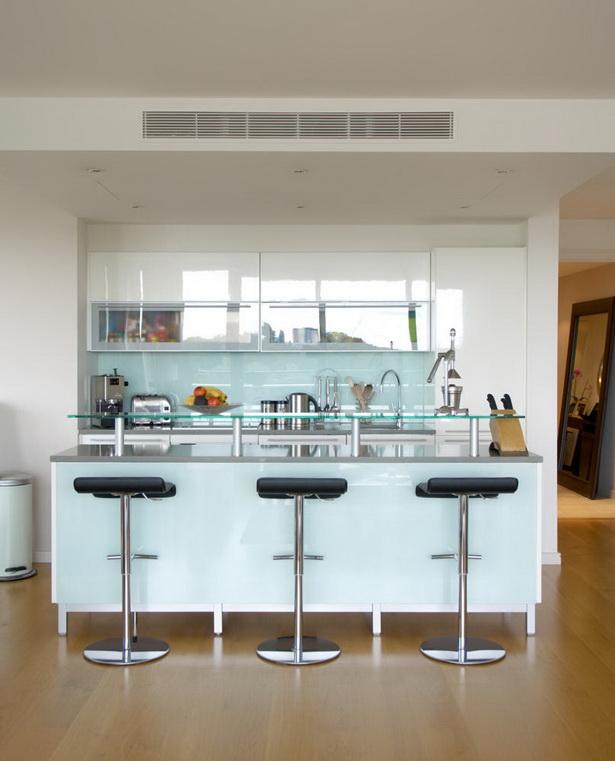 Küche Mit Bar Tresen Theke In Der Küche Holztresen: Küche Mit Tresen