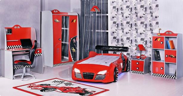 Kinderzimmer auto