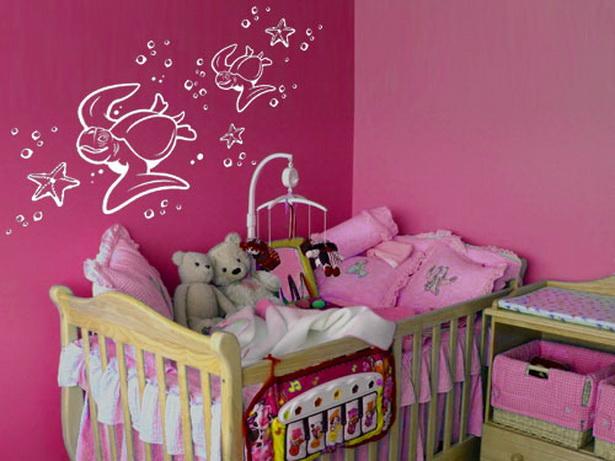 Kinderzimmer farblich gestalten for Wanddekoration babyzimmer