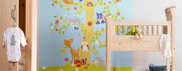 Kinderzimmer gestalten wand for Ideen gestaltung kinderzimmer