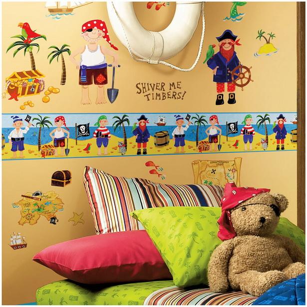 kinderzimmer pirat. Black Bedroom Furniture Sets. Home Design Ideas