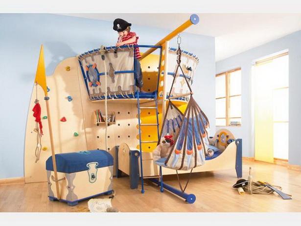 Kinderzimmer pirat - Abenteuerbett junge ...