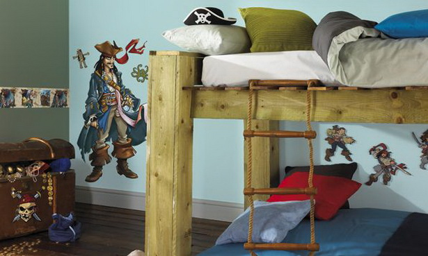 kinderzimmer piraten. Black Bedroom Furniture Sets. Home Design Ideas