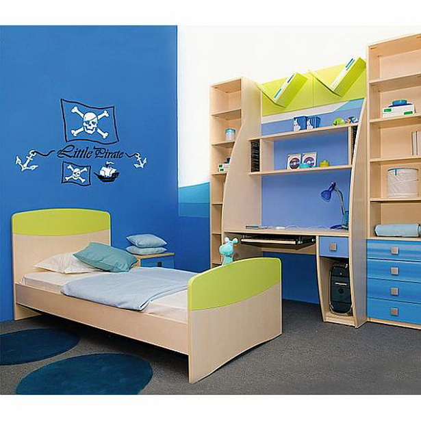 Kinderzimmer piraten for Wandschablone kinderzimmer