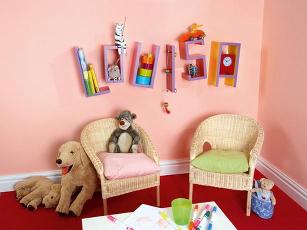 Kinderzimmer selbst gestalten - Bucherregal kinderzimmer selber bauen ...