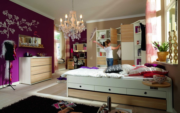 kleine jugendzimmer. Black Bedroom Furniture Sets. Home Design Ideas