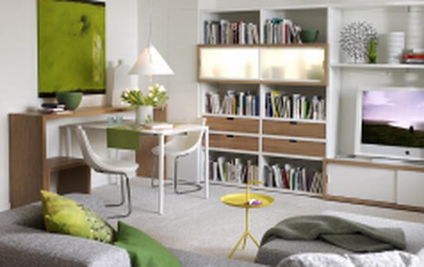 Kleine R?ume Mit Tapeten Gestalten : kleines quadratisches wohnzimmer einrichten : Kleine r?ume gestalten