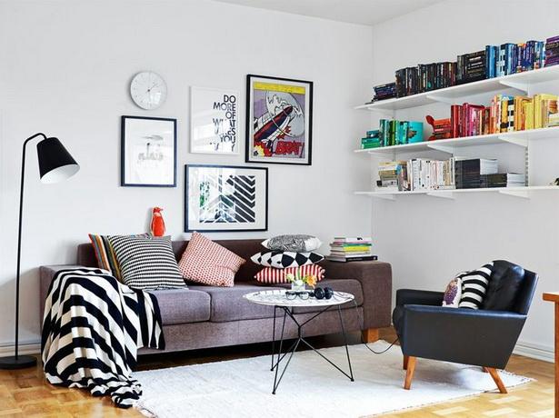 kleines wohnzimmer gemütlich einrichten  Kleines wohnzimmer