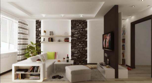 kleines wohnzimmer modern einrichten. Black Bedroom Furniture Sets. Home Design Ideas