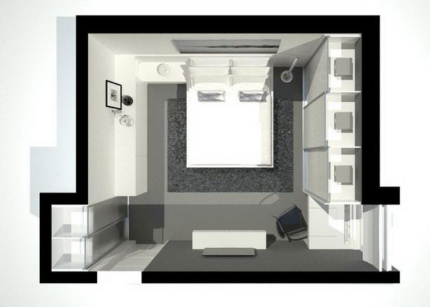 kleines schlafzimmer romantisch gestalten