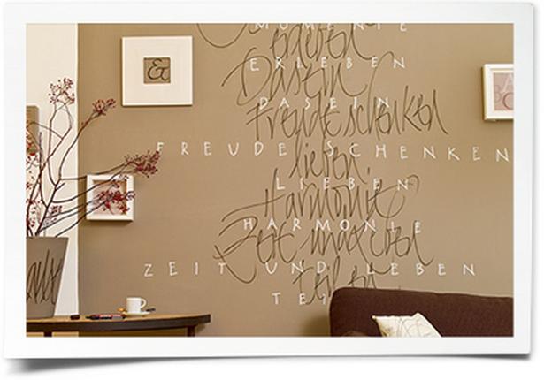 Kreative wandgestaltung wohnzimmer for Wandbemalung schlafzimmer