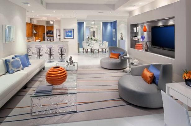 luxus wohnzimmer modern inspiration f r. Black Bedroom Furniture Sets. Home Design Ideas