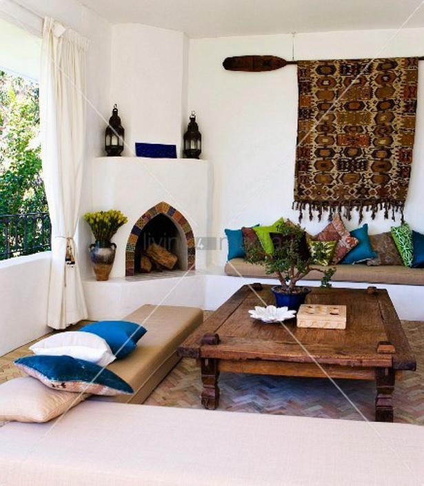 Marokkanische wohnzimmer - Wohnzimmer orientalischer stil ...