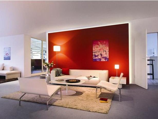 Wohnzimmer Modern Farben : Moderne farben für wohnzimmer