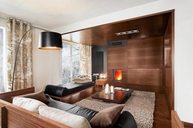 Wandfarben Wohnzimmer Dunkle Mobel : wohnzimmer farbe holzmöbel ...