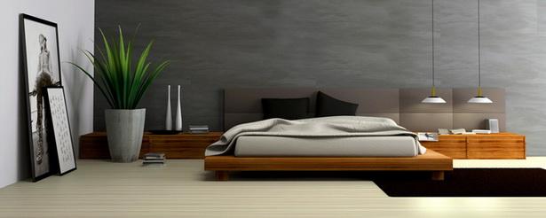 Moderne schlafzimmergestaltung