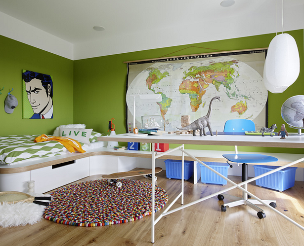 Moderne tapeten jugendzimmer - Jugendzimmer farben ...