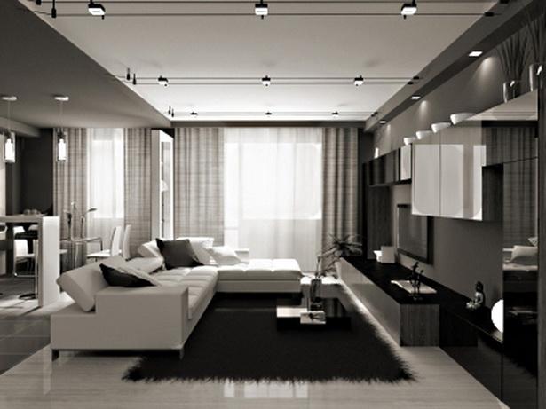 moderne wohnzimmer gardinen. Black Bedroom Furniture Sets. Home Design Ideas