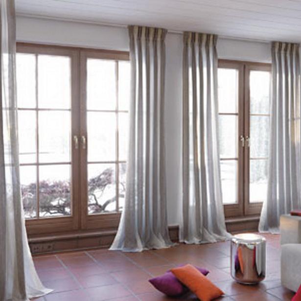 Moderne wohnzimmer gardinen