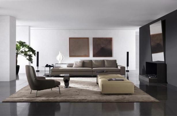 moderne wohnzimmer ideen. Black Bedroom Furniture Sets. Home Design Ideas