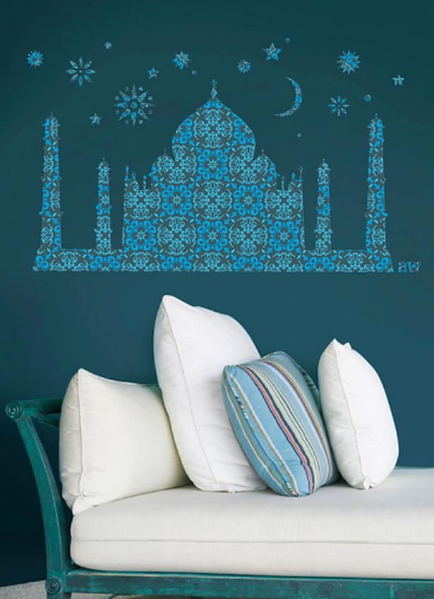 Orientalische raumgestaltung - Wandtattoo orientalisch ...