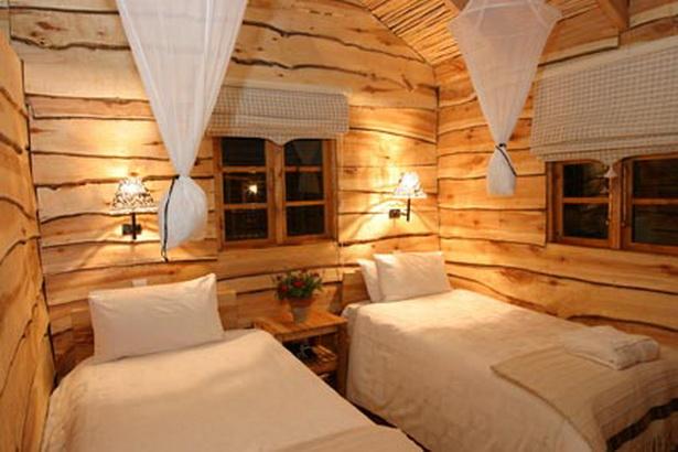rustikale schlafzimmer