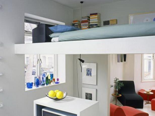Ein Zimmer Wohnung Einrichten Wohnen Und Schlafen Kleines Wohnzimmer