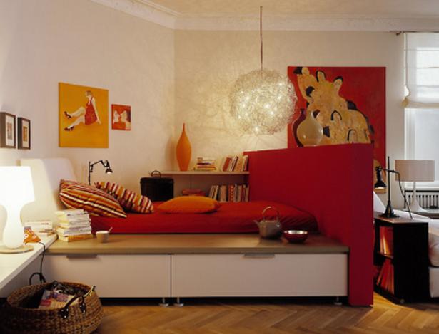 Schlafen im wohnzimmer for Schoner wohnen raumgestaltung