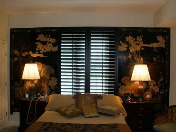 Schlafzimmer asiatisch gestalten