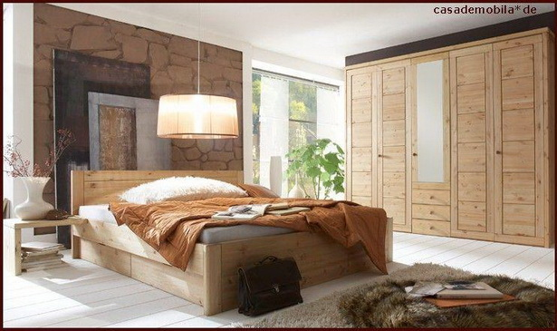 schlafzimmer aus holz. Black Bedroom Furniture Sets. Home Design Ideas