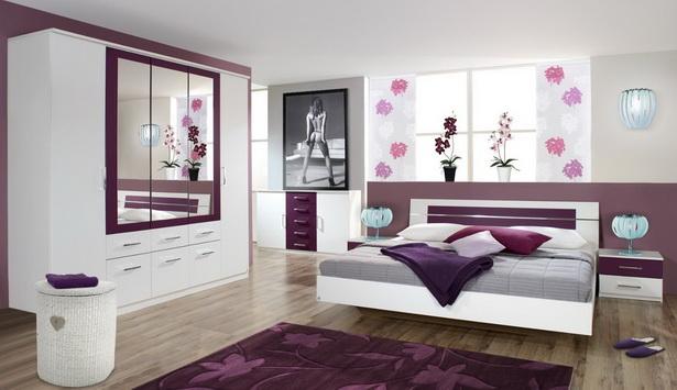 Schlafzimmer brombeer