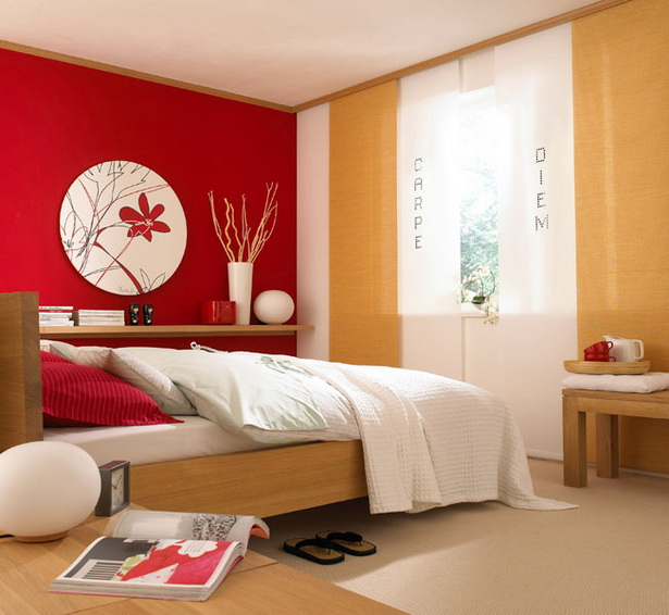 Schlafzimmer Wandfarbe Feng Shui Farben Fur Wohnzimmer Fa: Schlafzimmer Farben Beispiele