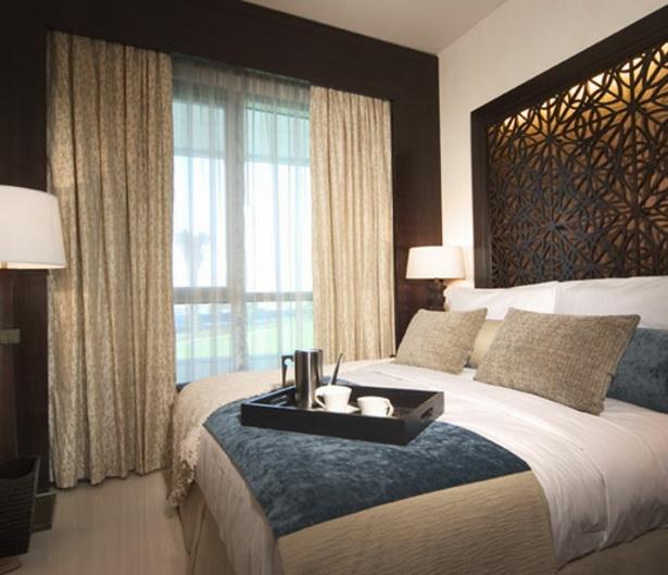 Schlafzimmer gardinen for Ideen fur raumgestaltung