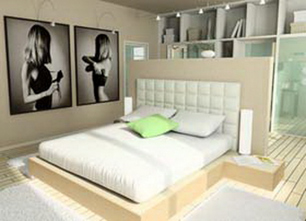 schlafzimmer gestalten ideen. Black Bedroom Furniture Sets. Home Design Ideas