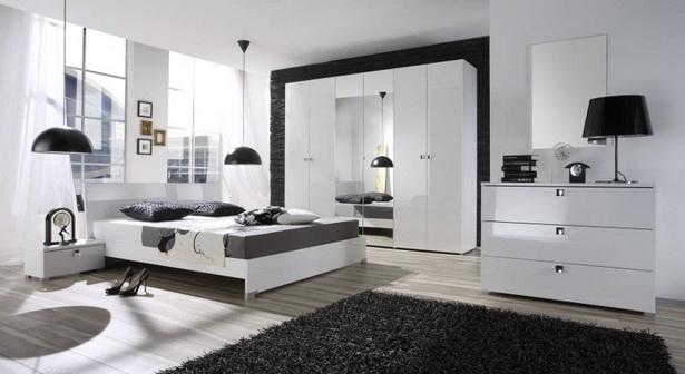 Schlafzimmer hochglanz weiß