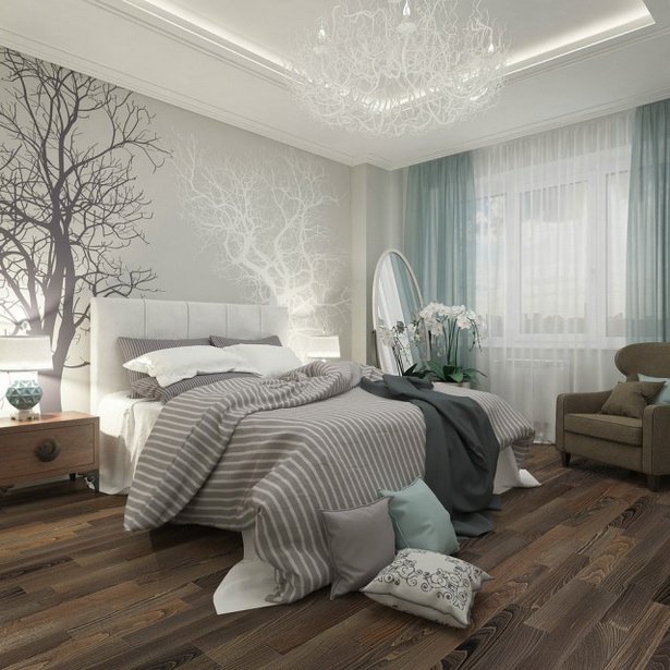 Schlafzimmer Wande Farblich Gestalten Braun Mobili: Schlafzimmer Ideen Gestaltung