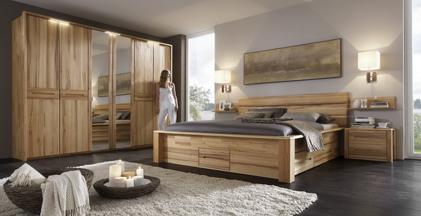 schlafzimmer kernbuche. Black Bedroom Furniture Sets. Home Design Ideas