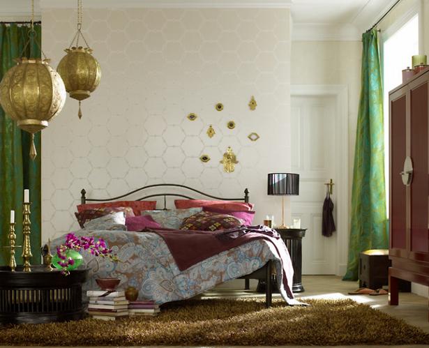 Schlafzimmer orientalisch - Orientalische wandgestaltung ...