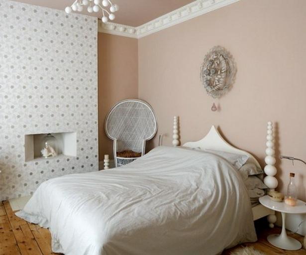 schlafzimmer tapeten ideen. Black Bedroom Furniture Sets. Home Design Ideas