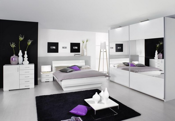 schlafzimmer wei hochglanz. Black Bedroom Furniture Sets. Home Design Ideas
