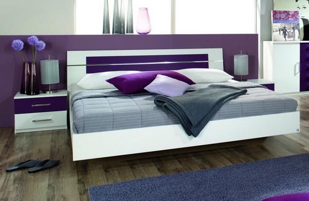 Schlafzimmer wei lila for Fein zimmer lila weis streichen