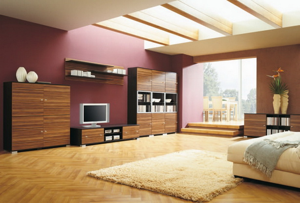 sch ne wandfarben f rs wohnzimmer. Black Bedroom Furniture Sets. Home Design Ideas