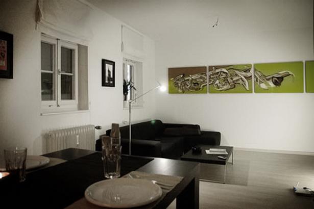 Stylische wohnzimmer ideen - Stylische wandgestaltung ...
