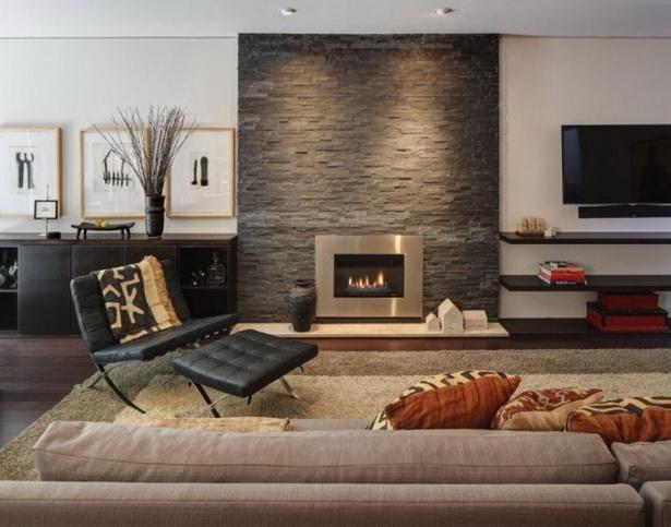 Naturstein Tapete Wohnzimmer : Wohnzimmer Sessel mit Fu?lehne Wandgestaltung-Ideen Naturstein Optik
