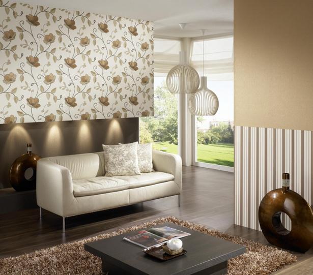 tapete ideen wohnzimmer. Black Bedroom Furniture Sets. Home Design Ideas