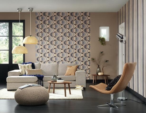 Raumbilder Schlafzimmer Tapeten : Tapeten im wohnzimmer ideen