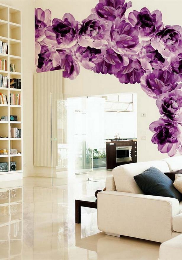 wohnzimmer tapezieren ideen – Dumss.com